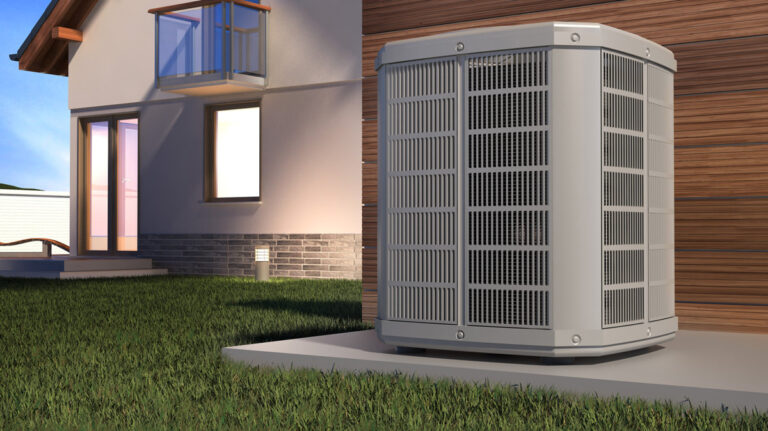 An outdoor air conditioning unit